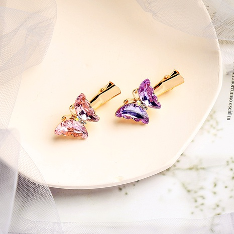 Butterfly sweet hair grab clip  NHQD283773's discount tags