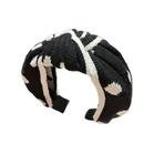 widesided simple knitting yarn headband  NHUX283789