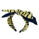 leopard print bowknot broadbrimmed headband NHUX283796