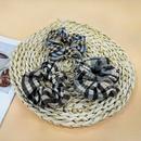 Korea  woolen plaid hair scrunchies  NHUX283818