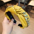 NHUX1270612-Yellow-leather-thick-chain-clause