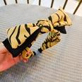 NHUX1270630-Light-yellow-leopard-double-bow