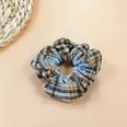 NHUX1270770-2-Woolen-plaid-hair-tie