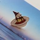 cute hat  circus clown brooch  NHOM283832