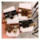 Korean cute  bear  hair scrunchies   NHHD283896
