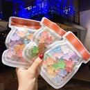 Korean  cute rainbow candy  fivestar love childrens headwear towel ring  NHSA283926
