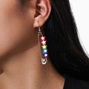 fashion  fivepointed star  tassel earrings  NHPV283938