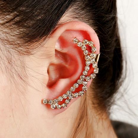 Korean  full diamond crystal ear clip NHYE284046's discount tags