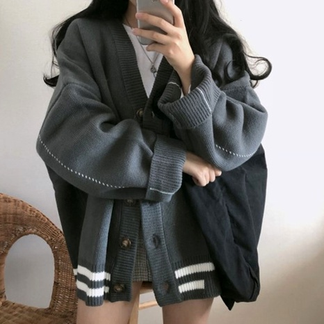 Autumn and winter new loose fashion casual short jacket NHJC284684's discount tags