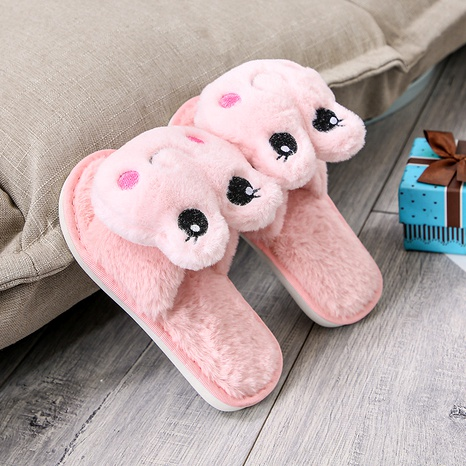 zapatillas de felpa de dibujos animados lindo NHPE284185's discount tags
