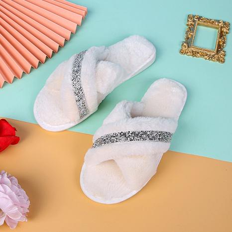zapatillas de casa de algodón de moda NHPE284209's discount tags