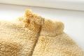 winter lamb hair teddy velvet tie-dye drawstring jacket  NHAM284323