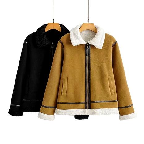 Wintermode Lamm Fleece Polar Fleece Mantel NHAM284325's discount tags