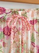 elastic high waist lace printed long skirt NHAM284345