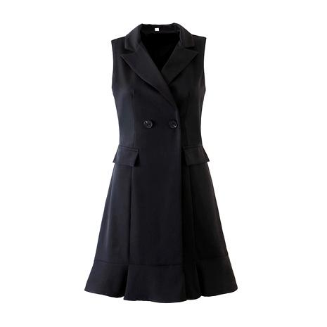new sleeveless mid-length vest  NHAM284389's discount tags