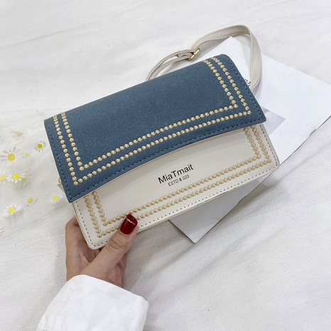 bolso pequeño cuadrado de moda de mensajero de un solo hombro NHRU284616's discount tags