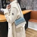 oneshoulder messenger fashion small square bag NHRU284616