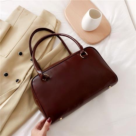 casual large-capacity retro fashion underarm shoulder bag NHRU284625's discount tags