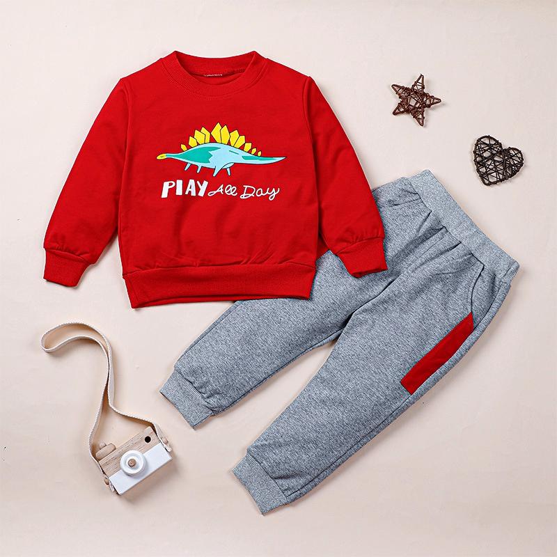Fashion  Cartoon Two-piece Casual Sweater Set  NHLF284641
