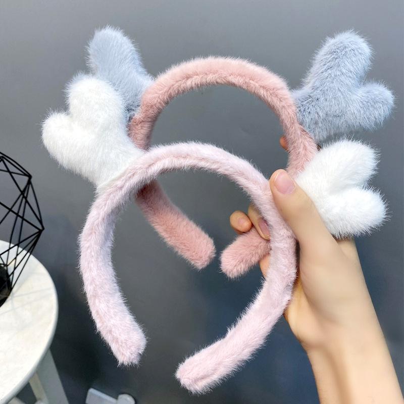 Christmas  cute little antlers headband  NHFS284726