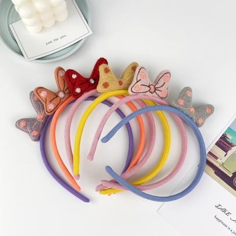 Banda para el cabello con lazo grande para niños nuevos coreanos NHCU284849's discount tags