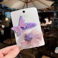 NHCU1277818-Purple-Butterfly-+-Net-Yarn-Bow-(2-piece-set)