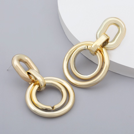 boucles d'oreilles ovales NHJE284911's discount tags