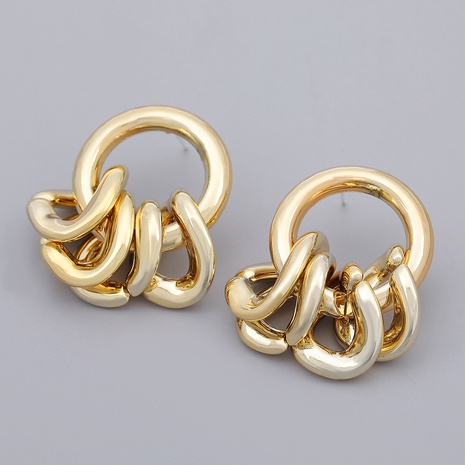 pendientes redondos con rombos irregulares NHJE284932's discount tags