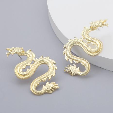 pendientes de aleación con forma de dragón retro NHJE284935's discount tags