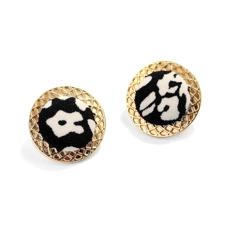 Cow pattern fashion earrings NHJQ284942