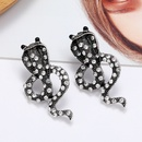 retro snakeshaped earrings NHLN284963