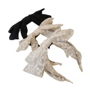 Korean  bow tie  retro lace  doublelayer headband  NHSM284975