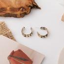 leopard print earrings NHMS285013