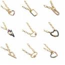 peach heart necklace  NHYL285109