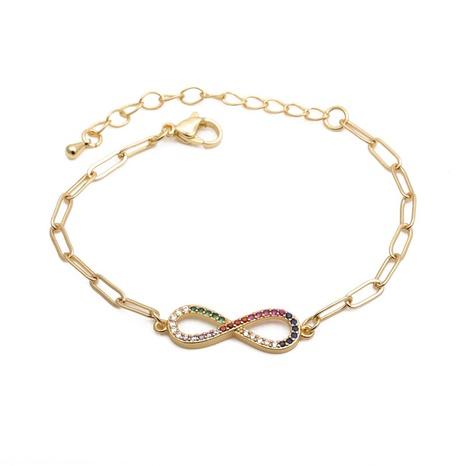 Zirconium 8 Adjustable Bracelet  NHYL285124's discount tags