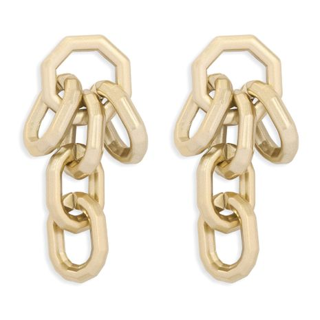 French thick chain earrings  NHJQ277188's discount tags