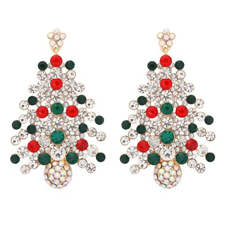Christmas tree earrings wholesale  NHJQ277194's discount tags