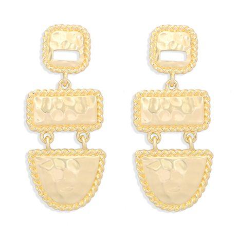 retro geometric square alloy earrings NHJQ277198's discount tags