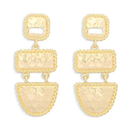 retro geometric square alloy earrings NHJQ277198's discount tags