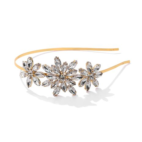 Korean fashion new rhinestones  headband NHJQ277212's discount tags