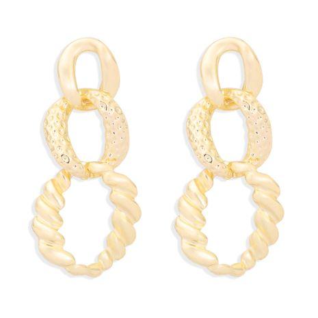 Hollow Geometric Circle Earrings  NHJQ277216's discount tags