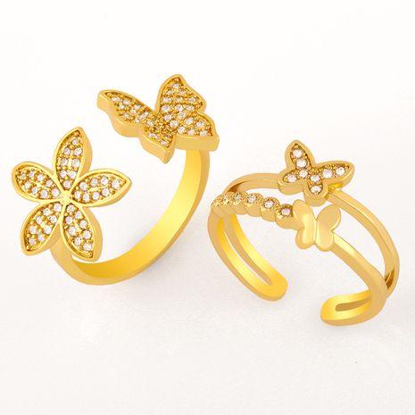 bague en diamant papillon NHAS277244's discount tags