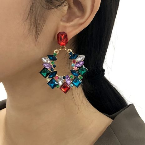 colored diamond earrings  NHMD277250's discount tags