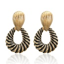 exaggerated allmatch earrings NHPF277335