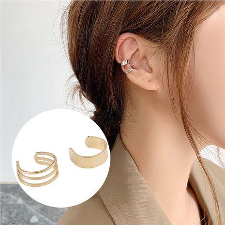 fashion simple multi-circle ear clip  NHMS277485's discount tags
