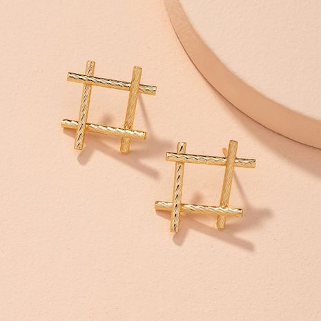 fashion simple alloy earrings NHAI277512's discount tags