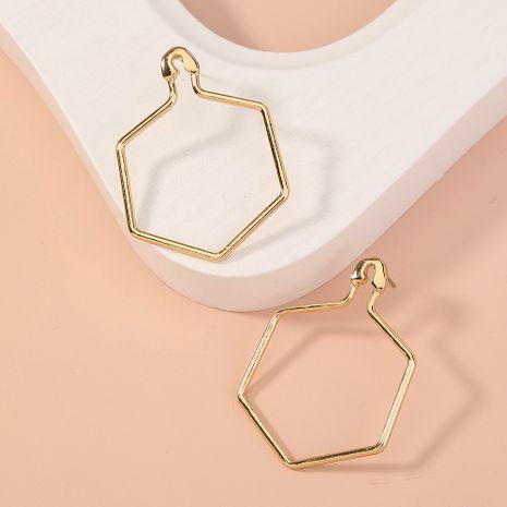boucles d'oreilles simples et polyvalentes en forme de diamant NHAN277530's discount tags