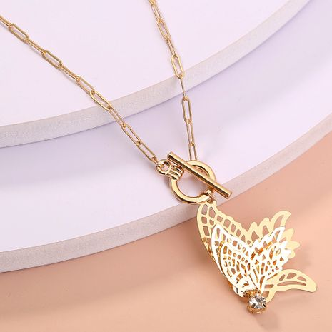 Korea  new diamond star moon  simple wild  necklace NHAN277527's discount tags