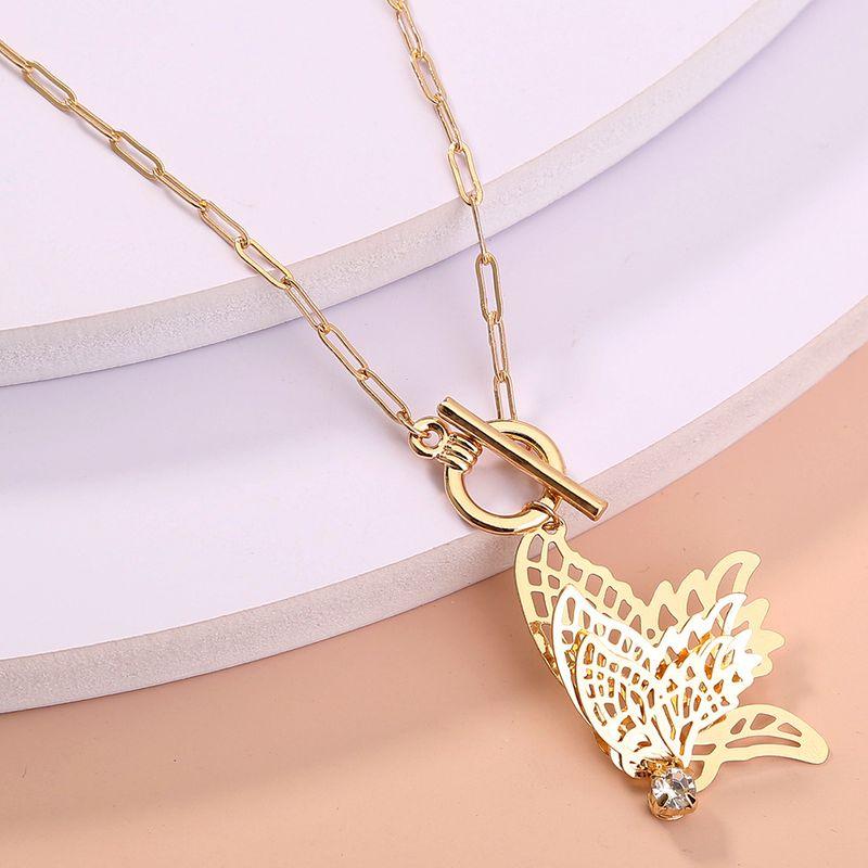 Korea  new diamond star moon  simple wild  necklace NHAN277527