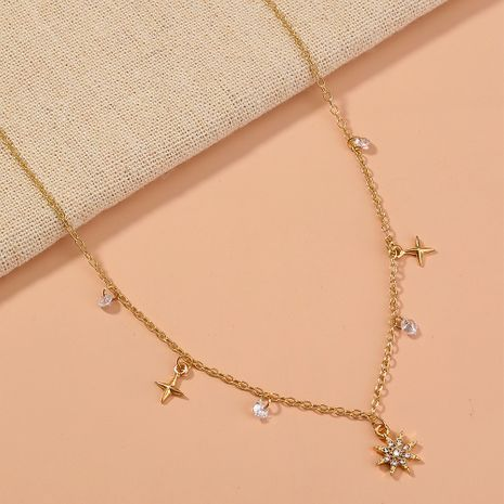 fashion all-match  star tassel necklace NHAN277521's discount tags